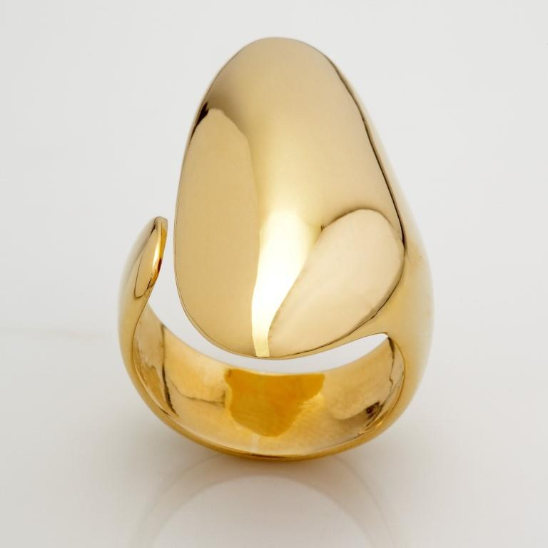 Anel Abrigo - Ouro Amarelo